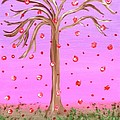 Cotton Candy Sky Wishing Tree by Alys Caviness-Gober
