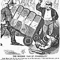 Cotton Loan Cartoon, 1865 by Granger