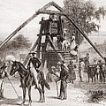 Cotton Press In Operation In The South by Everett