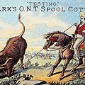 Cotton Thread Trade Card by Granger