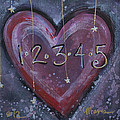 Counting Heart by Laurie Maves ART