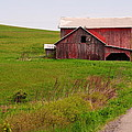Country Barn by April  Robert