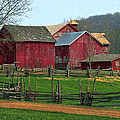 Country Barns by Dave Mills