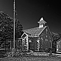Country Church Monochrome by Steve Harrington