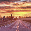 Country Road Sunrise by James BO Insogna