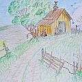 Country Woodshed by Debbie Portwood