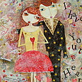 Courting Couple by Denise Rivkin