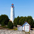 Cove Island Lighthouse by Barbara McMahon