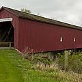 Covered Bridge Zumbrota 1 by John Brueske