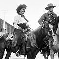 Cowboy And Cowgirl, C1908 by Granger