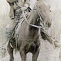 Cowboy Robber, C1900 by Granger