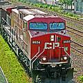 Cp Rail Engine by Randy Harris