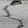 Crack In The Street by Henrik Lehnerer