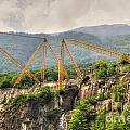 Crane On The Mountain by Mats Silvan