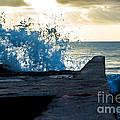 Crashing Blue by Rene Triay Photography