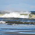 Crashing Waves by Michael Merry