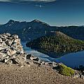 Crater Lake Afternoon by Greg Nyquist