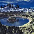 Crater Lake by Heinz G Mielke