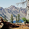 Crater Lake Through Nature by Mike Stone