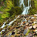 Crater Lake Waterfall by Adam Jewell