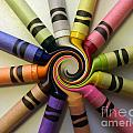Crayons by Peggy Starks