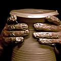 Creation At The Potter's Wheel by Rob Travis