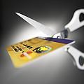Credit Card Debt by Tek Image