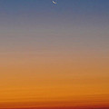 Crescent Moon Before Sunrise by Bill Cannon