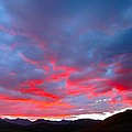 Crested Butte Alpenglow by Kathryn Barry