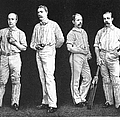 Cricket Players, 1889 by Granger