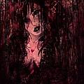 Crimson Torn Lace by Rachel Christine Nowicki