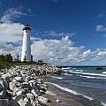 Crisp Point Lighthouse 11 by John Brueske