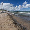 Crisp Point Lighthouse 13 by John Brueske