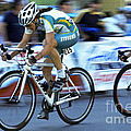 Criterium Bicycle Race 3 by Bob Christopher