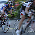 Criterium Bicycle Race 4 by Bob Christopher