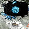 Crochet Camera Bw by LeeAnn McLaneGoetz McLaneGoetzStudioLLCcom