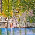 Crooked Creek 1 by Robert P Hedden