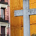 Cross In The City Of Madrid by Artur Bogacki