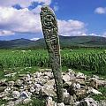 Cross Slab, Dingle Peninsula, Co Kerry by The Irish Image Collection
