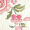 Cross Stitch Flower 1 by Marilyn Hunt