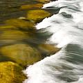 Crossing The Creek by Rich Franco