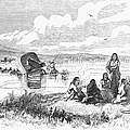 Crossing The Platte, 1859 by Granger