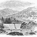 Croton Dam, 1860 by Granger