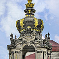 Crown Gate - Kronentor Zwinger Palace Dresden by Christine Till