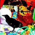 Crow's Piano by YoMamaBird Rhonda