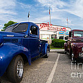 Cruise Night At The Diner by Edward Fielding