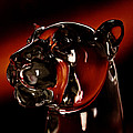 Crystal Cougar Head II by David Patterson