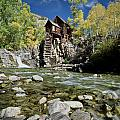 Crystal Mill In Autumn by Greg Nyquist