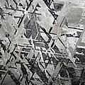 Crystal Structures In Meteorite by Dirk Wiersma