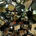 Crystals Of Pyrite by Bernard MICHEL